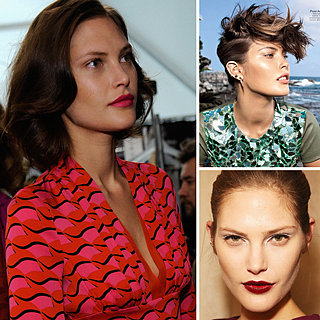 Australian Supermodel Catherine McNeil: Fashion Week Beauty