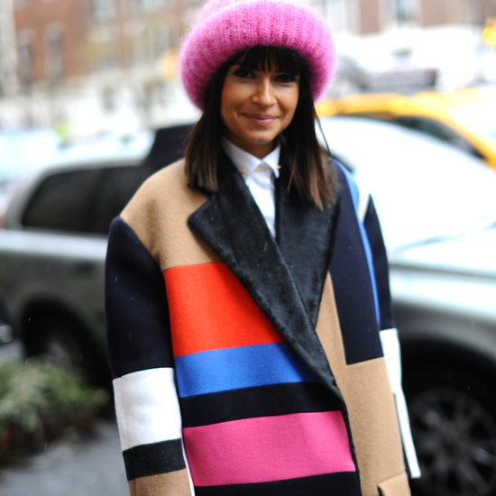 Fashion Week Street Style Coats | New York Fall 2013