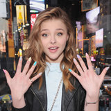 Chloë Moretz's Texturized Tips
