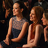 Olivia Wilde &amp; Jessica Chastain: Celebs Front-Row At NYFW