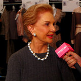 Carolina Herrera Fashion Week Interview | Video