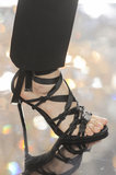 Lace-Up Heels
