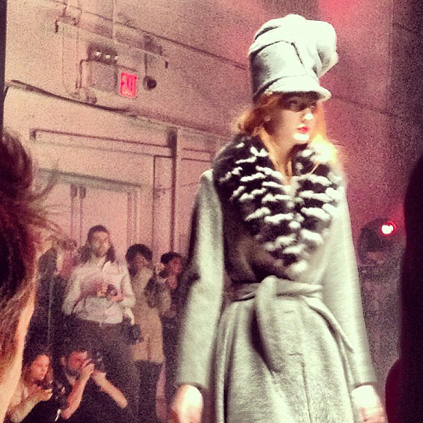 Band of Outsiders presented our favorite interpretation of the beanie yet.