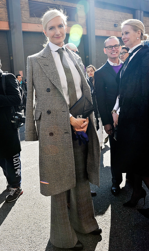 A menswear-inspired moment — a little Annie Hall, no?