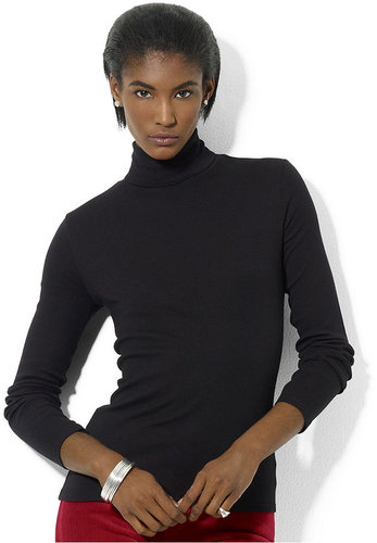 Lauren Ralph Lauren Top, Long-Sleeve Turtleneck