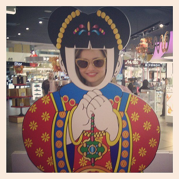 Miranda Kerr wished her followers a happy Chinese New Year. Source: Instagram user mirandakerrverified
