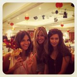 Laura Csortan celebrated Chinese New Year with yum cha with Georgie Watts and Michelle Leslie. Source: Instagram user lauracsortan