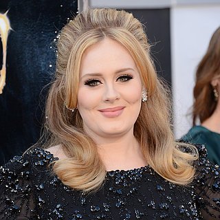 Adele Oscars 2013 Hair