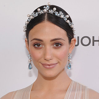 Emmy Rossum Oscars Party 2013 Hair