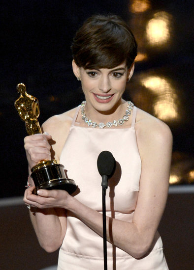 Best Supporting Actress: Anne Hathaway