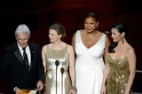 Richard Gere was joined by the cast of Chicago to present an award at the 2013 Oscars.
