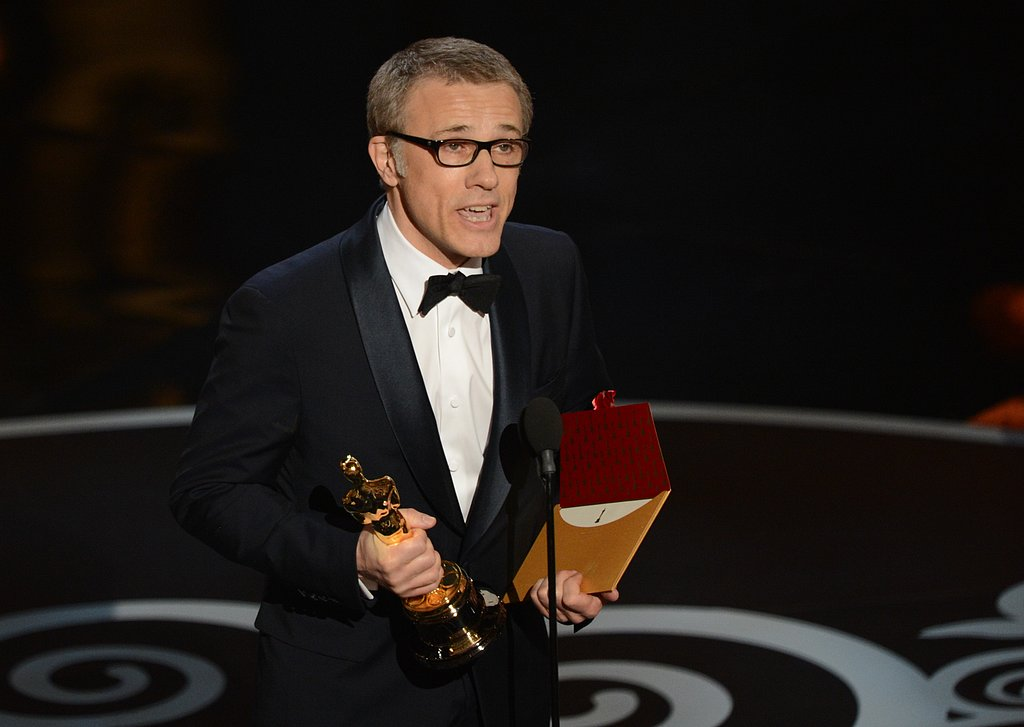Christoph Waltz won best supporting actor at the 2013 Oscars.