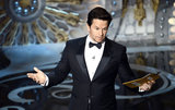 Mark Wahlberg presented two awards at the Oscars.