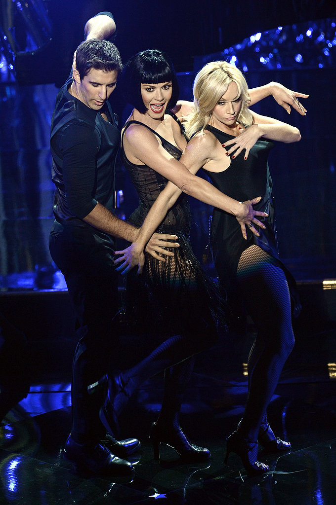"Catherine Zeta-Jones performed ""All That Jazz."""