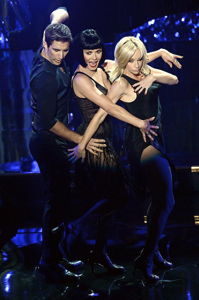"Catherine Zeta-Jones performed ""All That Jazz."""