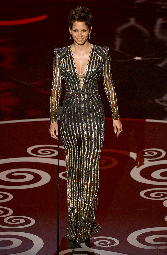 Halle Berry presented at the 2013 Oscars.