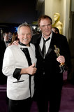 Wolfgang Puck and Quentin Tarantino were all smiles at the party.