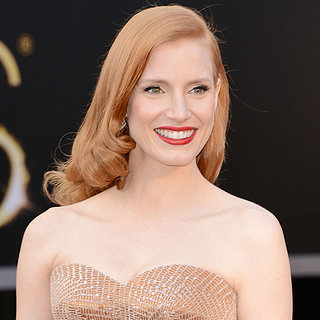Jessica Chastain at the Oscars 2013 | Pictures