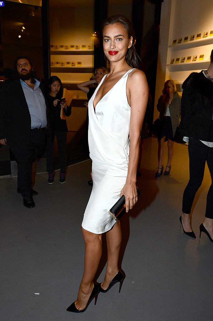 Irina Shayk celebrated the new Mario Testino next exhibit at the LA gallery PRISM.