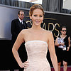 Jennifer Lawrence Pictures at 2013 Oscars in Dior