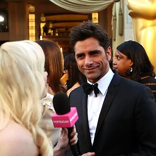 John Stamos Red Carpet Interview at the Oscars