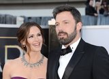 Jennifer Garner and Ben Affleck hit the Oscars red carpet together.