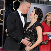 Channing Tatum and Pregnant Jenna Dewan PDA Oscars GIF