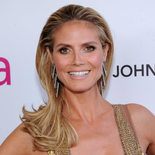 Heidi Klum at the Elton John Party 2013