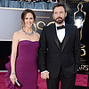 Stars on the Oscars Red Carpet 2013