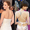 Oscars Trends 2013 | Backwards Necklaces