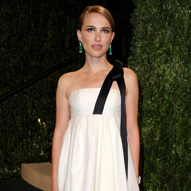 Natalie Portman Attends The Oscars After Party in Dior