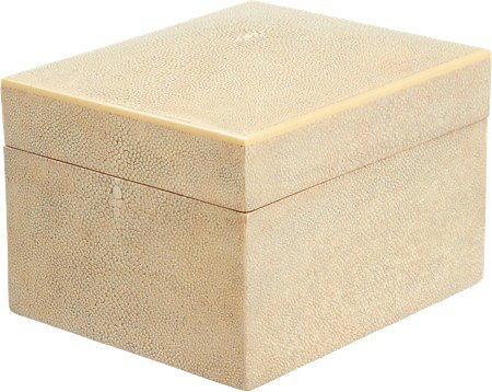 R & Y Augousti Large Antique Shagreen Box