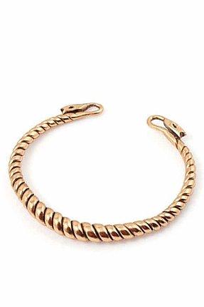 Vanessa Mooney Snake Cuff in Gold