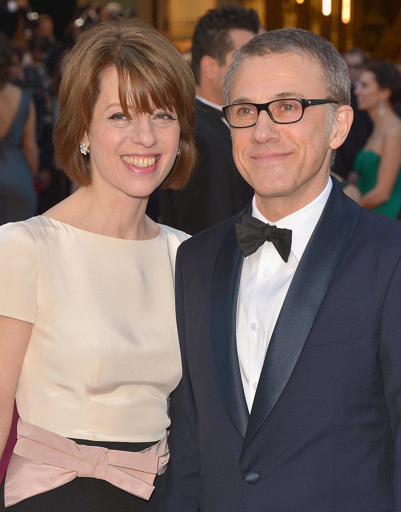Christoph Waltz and Judith Holste