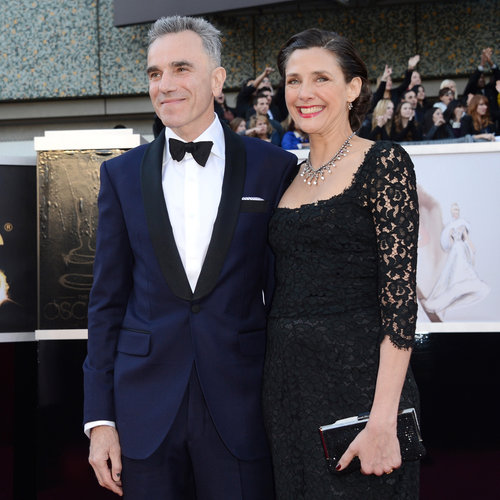 Daniel Day-Lewis and Rebecca Miller at the Oscars 2013