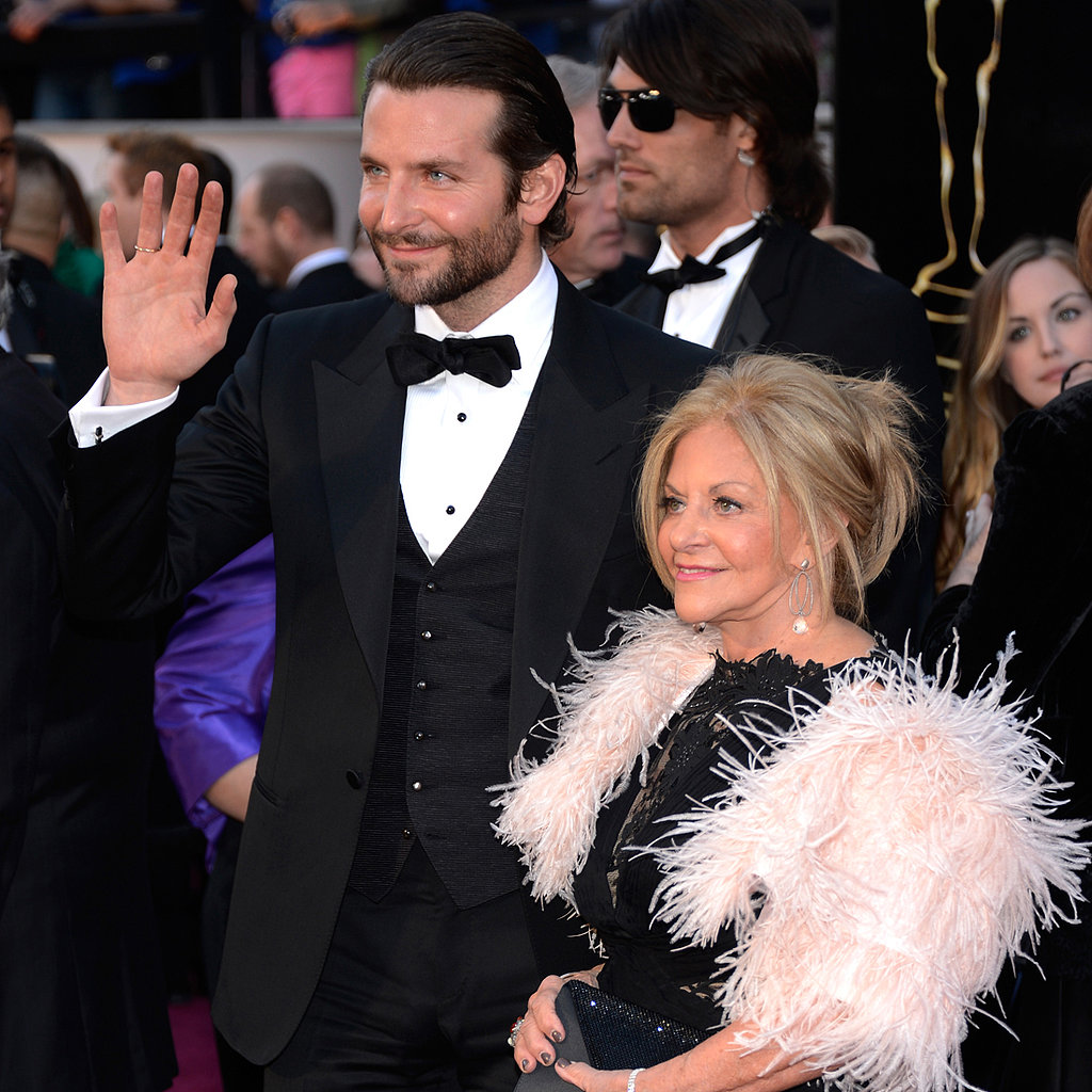 Bradley Cooper and His Mom at the Oscars 2013