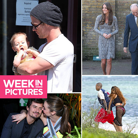 The Week in Pictures: Chris Hemsworth, Kate Middleton's Baby Bump, Miranda & More!