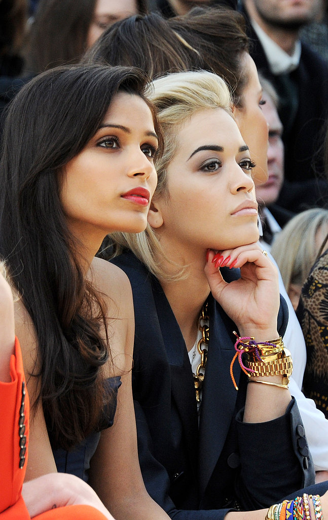 Rita Ora and Freida Pinto