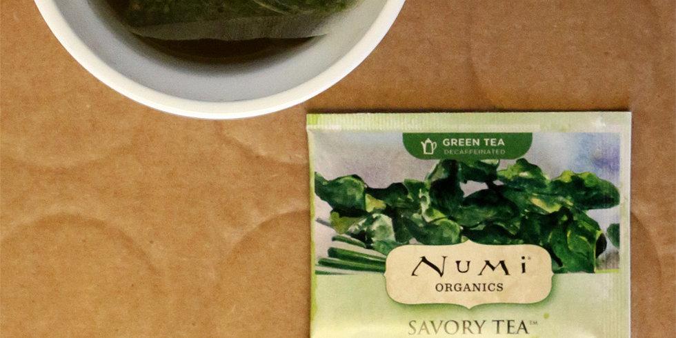 Taste Test: Numi Organic's Savory Teas