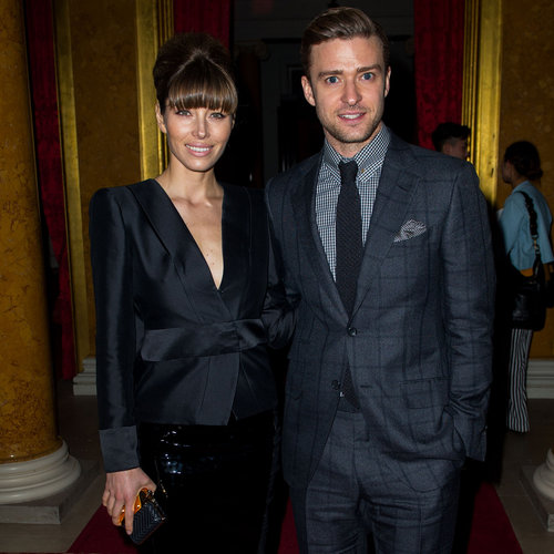 Justin Timberlake and Jessica Biel Front Row at Tom Ford