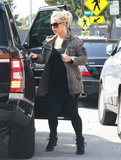 Jessica Simpson went for a casual look on Monday in LA.