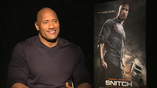 "Snitch's Dwayne Johnson Admits That ""Punching Dudes Can Be Fun"""