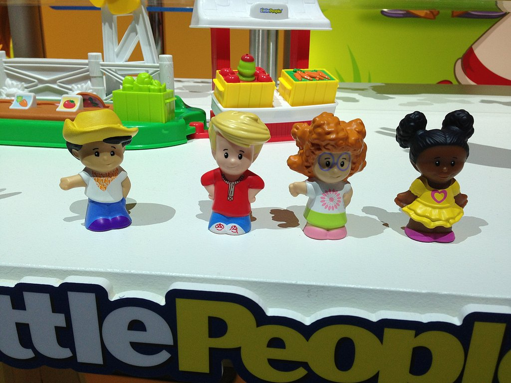 Fisher-Price's All-New Little People