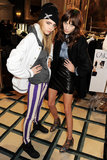 Cara Delevingne and Alexa Chung at Mulberry
