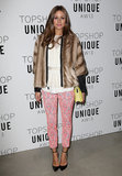 Olivia Palermo at Topshop Unique