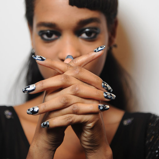 nail polish trends london fashion week fall 2013