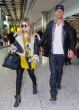 Josh Duhamel and Pregnant Fergie Head to the UK For Safe Haven