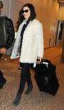 Rachel Weisz arrived in Tokyo to promote Oz the Great and Powerful.