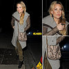 Kate Hudson Carrying Snakeskin Bag