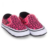 Vans Neon Leopard Slip-On Crib Shoes
